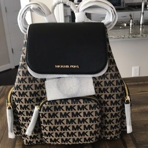 Michael Kors Abbey LARGE Cargo Backpack
